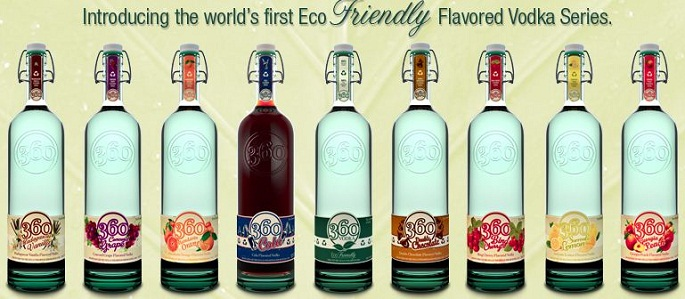 Eco-Friendly 360 Vodka
