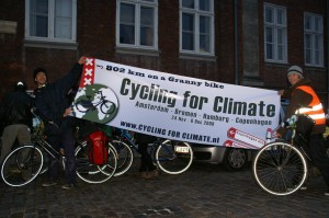 Cycling for Climate