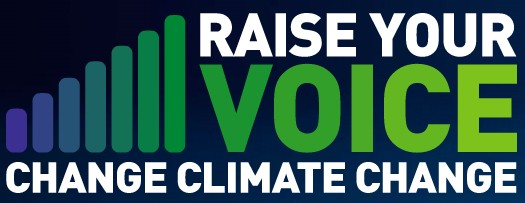 Raise your voice on climate change