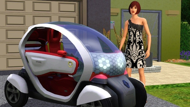Sims 3-Renault Twizy