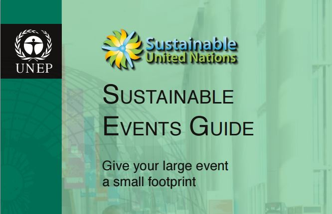 UNEP Sustainable Events Guide