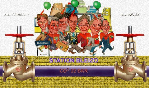 CO2 22 BAR leiding Zoetermeer