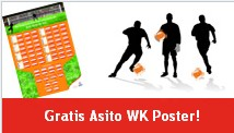 Gratis Asito WK 2010 poster