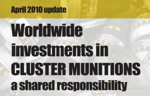 'Worldwide Investments in Cluster Munitions a Shared Responsibility'