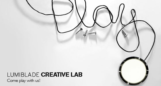 Lumiblade Creative Lab Come Play with Us