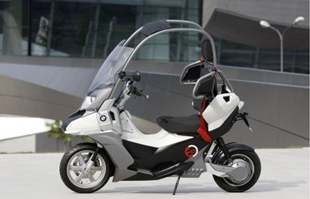 BMW C1-E Scooter