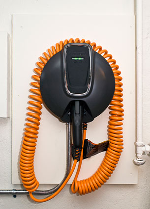 Chevy Volt Home Charging Station