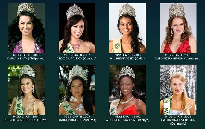 Former Miss-Earth Winners