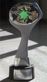 Green Star Awards Trophy