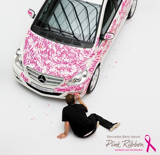 Mercedes-Benz Pink Ribbon