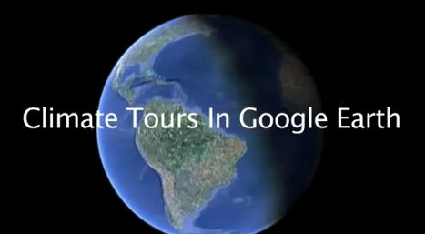 Climate Tours in Google Earth