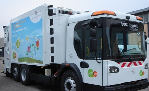 All Electric Waste Truck