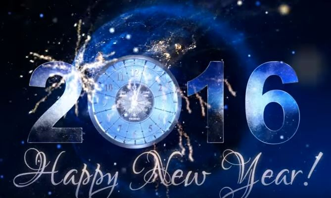 Happy New Year Countdown 2016