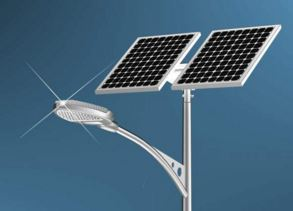 LED Streetslights India - Solar Powered
