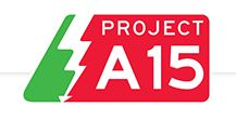 Project A15 logo