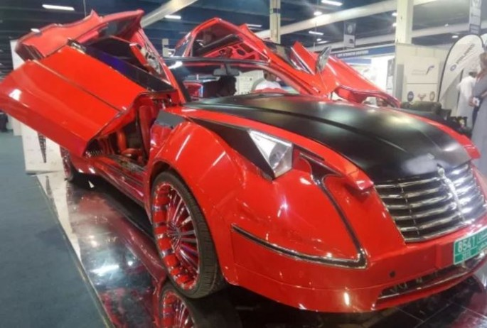 Nur Majan Electric Supercar