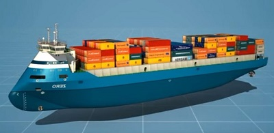 Zero-Emission Container Vessel