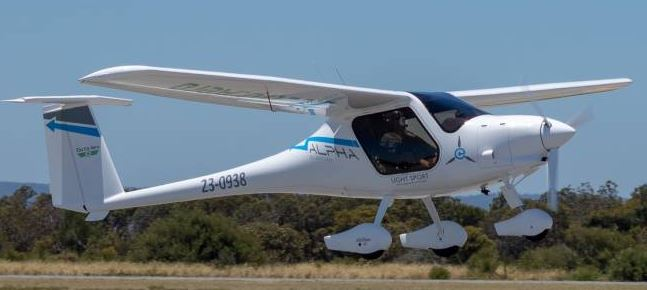 The alpha electric prototype wattsup an all electric for Electric motors for aircraft