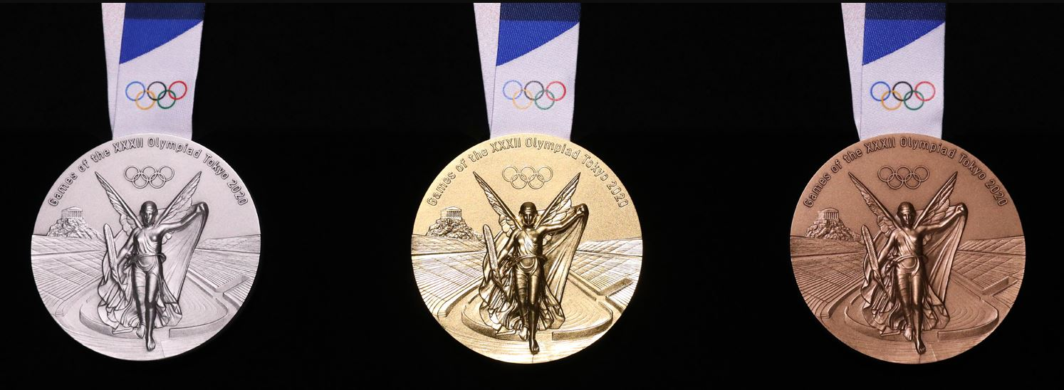 Tokyo Olympic Games 2021: Olympic Medals Made From ...